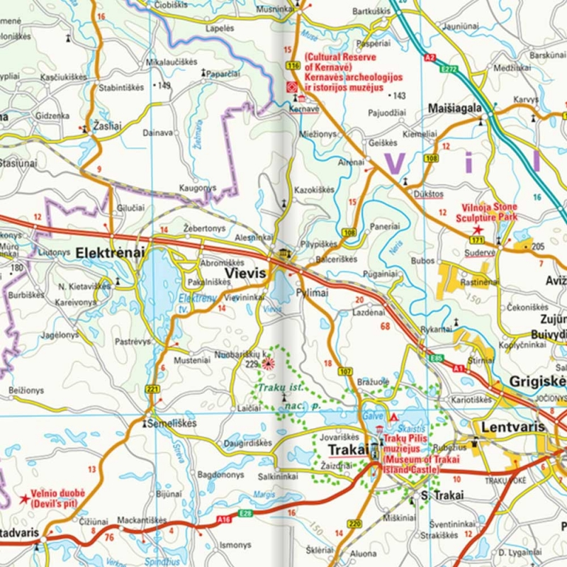 photo carte gps Lituanie