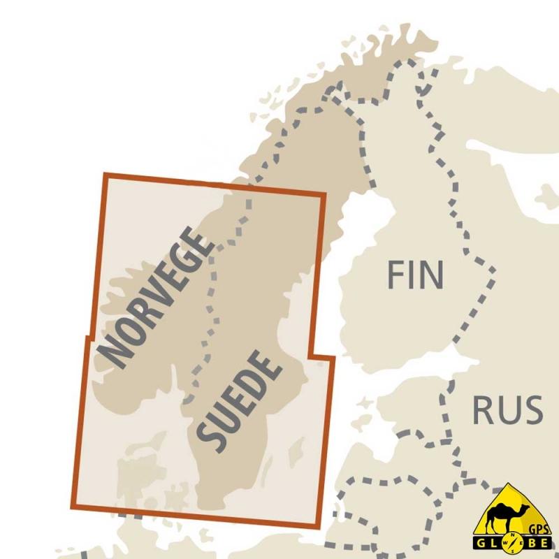 carte gps Finlande