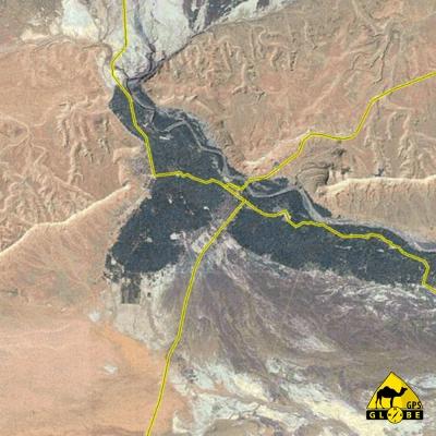 Maroc - Satellite - 1 : 250 000