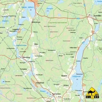 Suède - 1 : 250 000