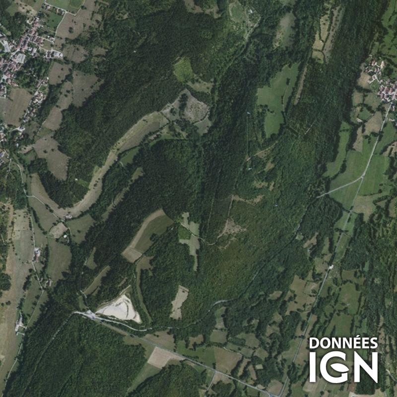 Région IGN - Satellite - Rhone-Alpes - 1 : 25 000