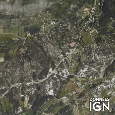Région IGN - Satellite - PACA Corse - 1 : 25 000