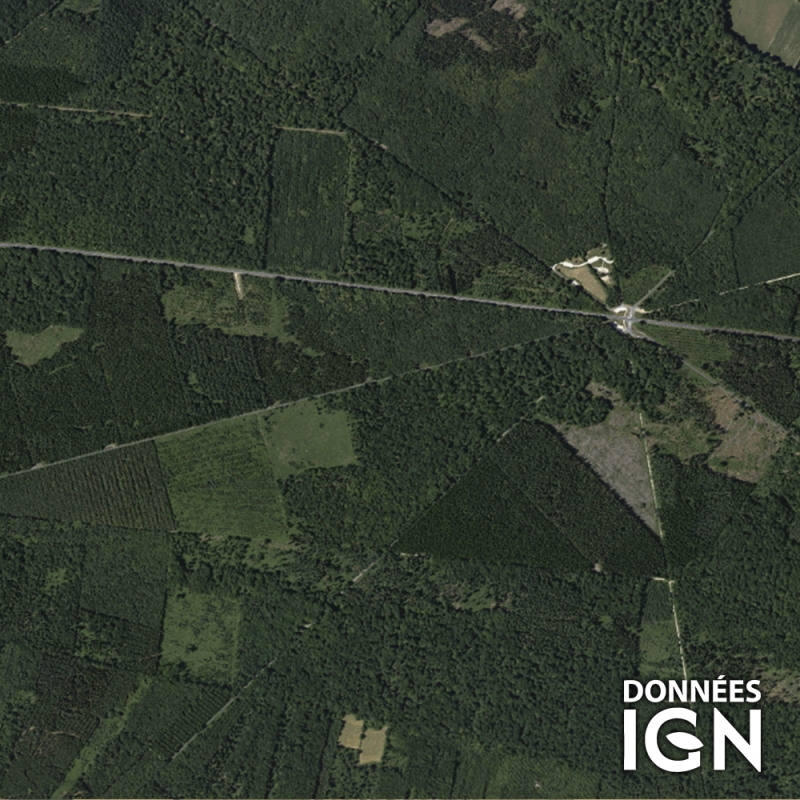 Région IGN - Satellite - Normandie - 1 : 25 000