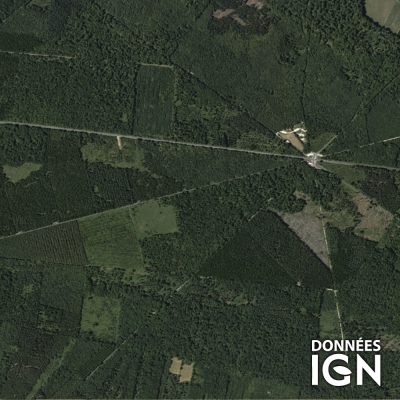 Région IGN - Satellite - Normandie - 1 : 25 000