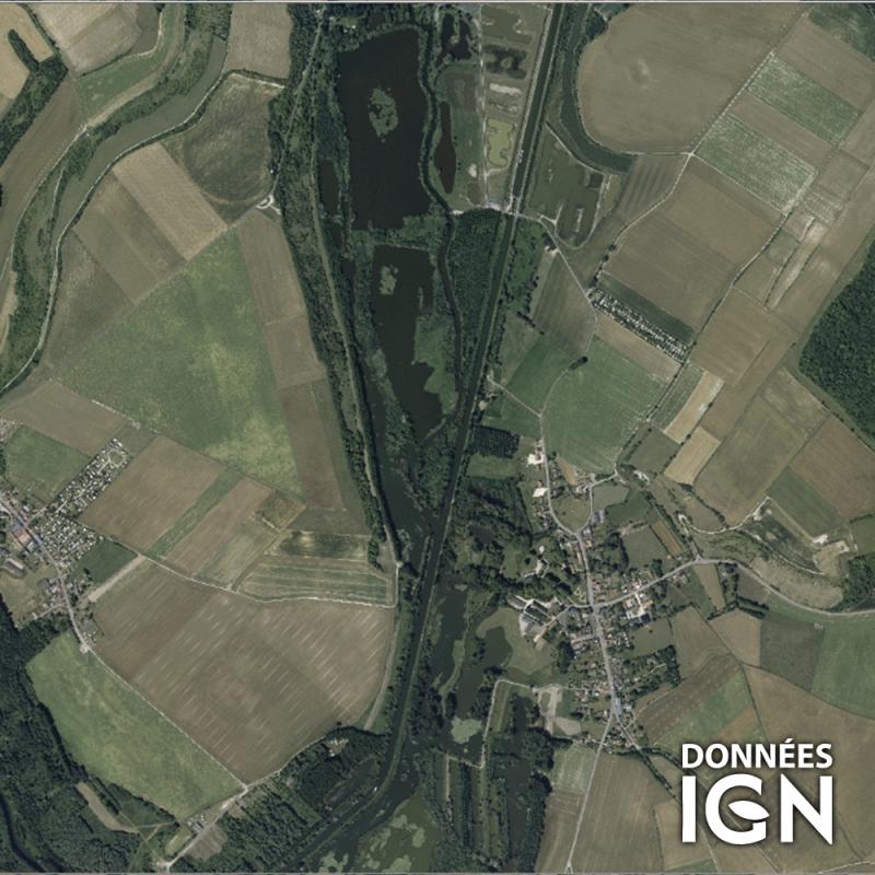 Région IGN - Satellite - Nord Picardie - 1 : 25 000