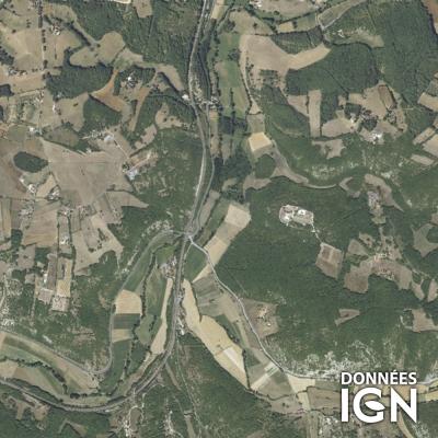 Région IGN - Satellite - Midi-Pyrénées - 1 : 25 000