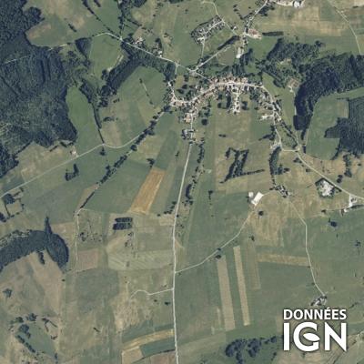 Région IGN - Satellite - Franche Comté - 1 : 25 000