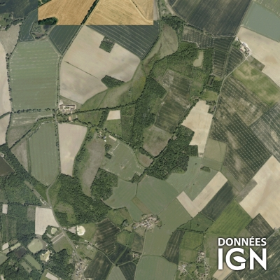 Région IGN - Satellite - Centre - 1 : 25 000