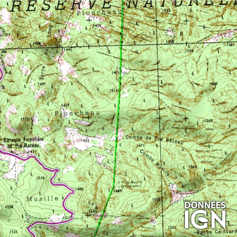 Carte Ign Tout Terrain France