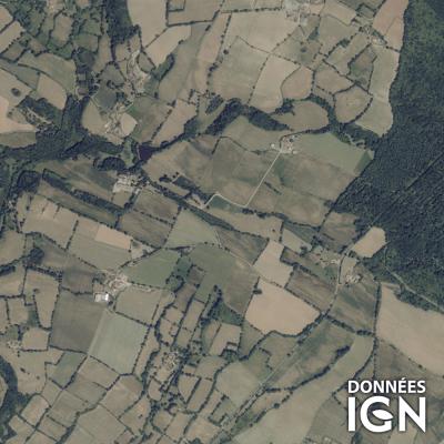 Département IGN - Satellite - Deux-Sevres 79 - 1 : 25 000