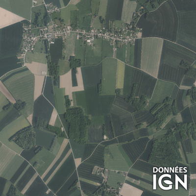 Département IGN - Satellite - Yvelines 78 - 1 : 25 000