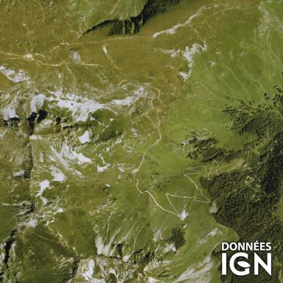 Département Pyrénées-Atlantiques (64) - Satellite - 1 : 25 000