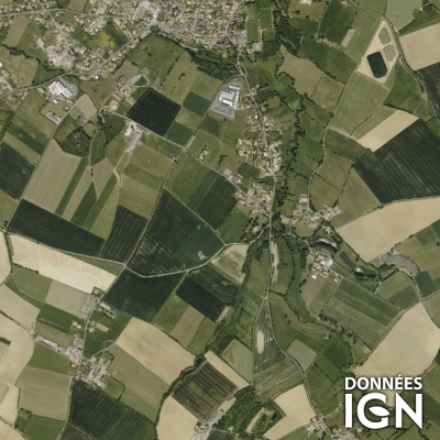 Département IGN - Satellite - Vendée 85 - 1 : 25 000