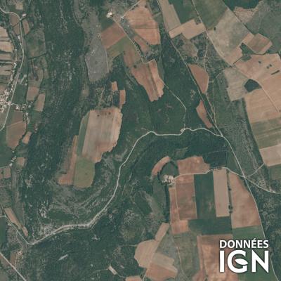 Département IGN - Satellite - Vaucluse 84 - 1 : 25 000