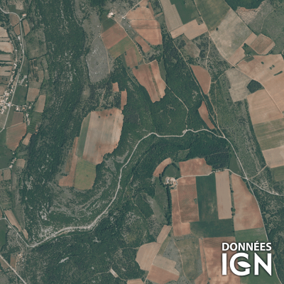 Département IGN - Satellite - Vaucluse 84 - 1 : 25 000