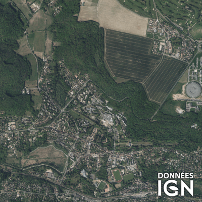 Département IGN - Satellite - Essonne 91 - 1 : 25 000