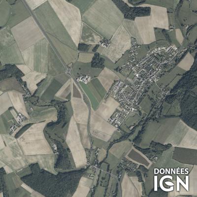 Département IGN - Satellite - Loir-et-Cher 41 - 1 : 25 000
