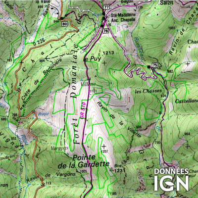 Département Alpes Maritimes (06) - 1 : 25 000