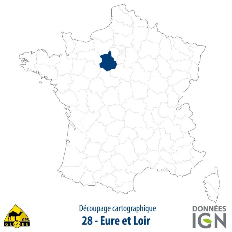 Département Eure Et Loir 28 1 25 000