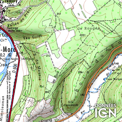 Département Yonne (89) - 1 : 25 000