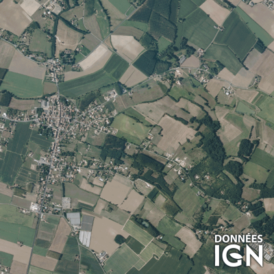 Département IGN - Satellite - Lot-et-Garonne 47 - 1 : 25 000