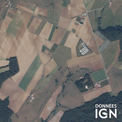 Département Meurthe-et-Moselle (54) - Satellite - 1 : 25 000