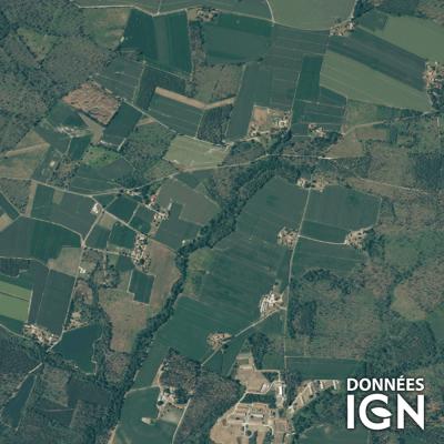 France entière - Satellite - 1 : 25 000