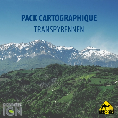 Pack cartographique Transpyrénée - France / Espagne
