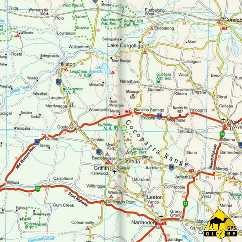 Carte Gps Australie.Gps Globe Carte Touristique De L Est De Australie