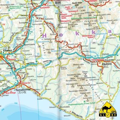 Japon - Carte touristique - 1 : 1 200 000