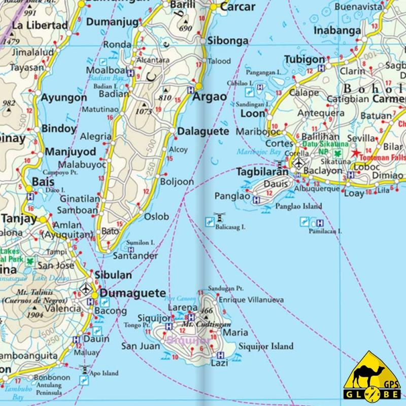 Gps Globe Carte Touristique Des Philippines