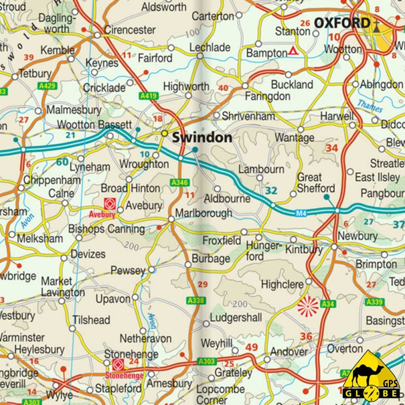 Carte Angleterre Ecosse.Gps Globe Carte Touristique Du Royaume Unis