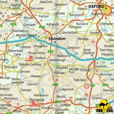 Royaume-Unis - Carte voyage - 1 : 750 000