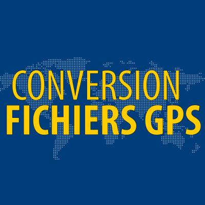 Conversion Fichier GPS