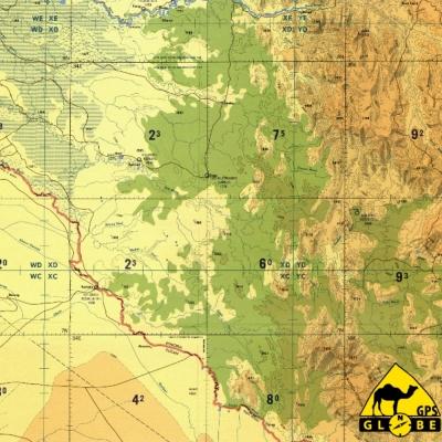 Ouganda - 1 : 500 000