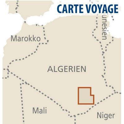 Hoggar (Algérie) - 1 : 200 000