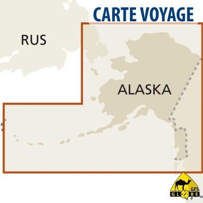 Etats-Unis (Alaska) - 1 : 2 000 000