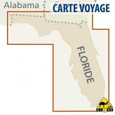 Etats-Unis (Floride) - Carte voyage - 1 : 500 000