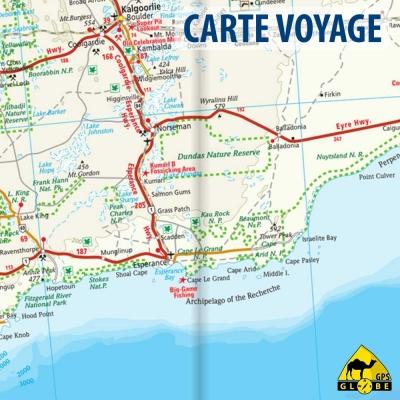 Australie - Carte voyage - 1 : 4 000 000