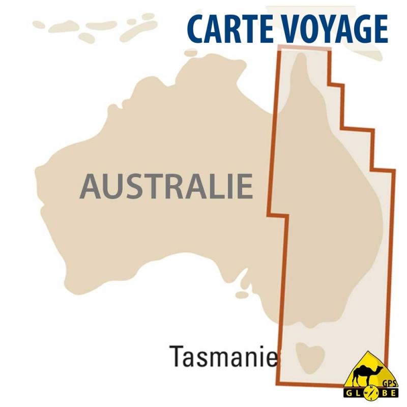 Australie (EST) - Carte touristique - 1 : 1 800 000