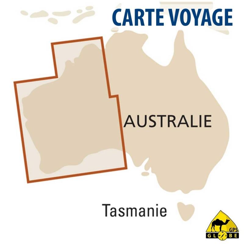 Carte Gps Australie.Gps Globe Carte Touristique De L Ouest De L Australie