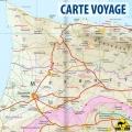 Chypre - Carte touristique - 1 : 150 000