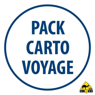 Pack Europe de l'Est - Toutes les cartes Voyage