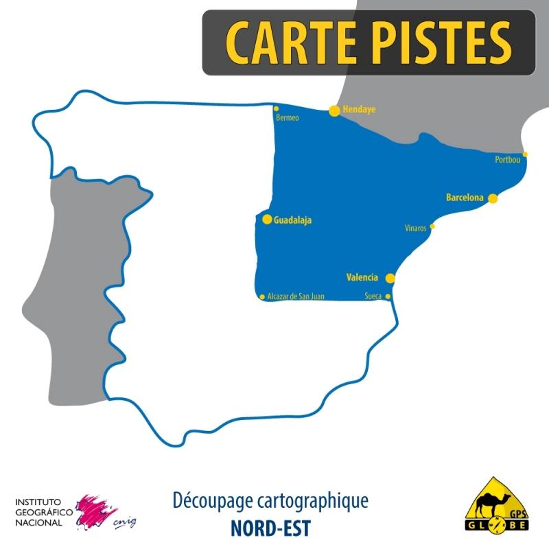Espagne Nord-Est - 1 : 50 000
