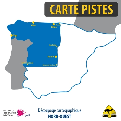 Espagne Nord-Ouest - 1 : 50 000