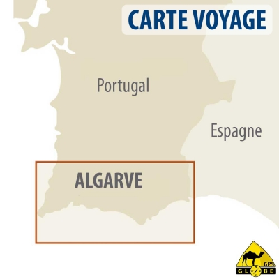 Algarve (Portugal) - Carte voyage - 1 : 100 000