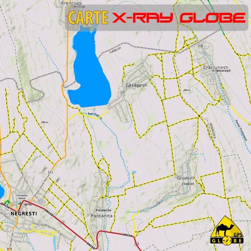 Roumanie - X-Ray Globe - 1 : 30 000 TOPO Relief