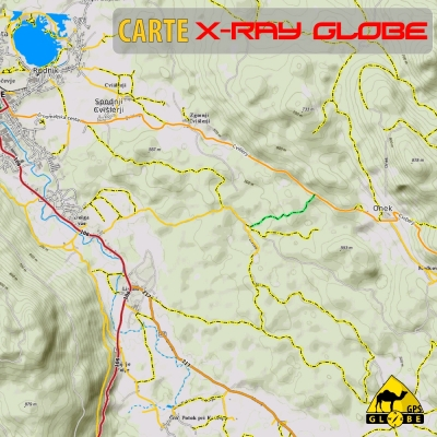 Slovénie - X-Ray Globe - 1 : 30 000 TOPO Relief