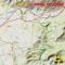 Sardaigne - X-Ray Globe - 1 : 30 000 TOPO Relief