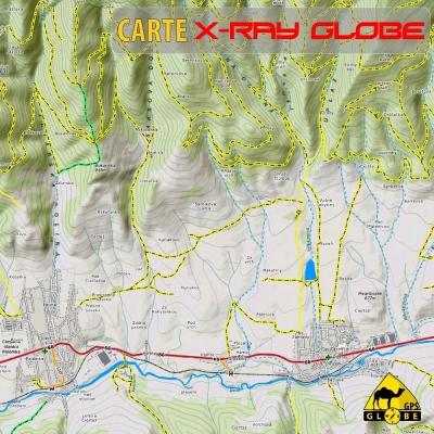 Slovaquie - X-Ray Globe - 1 : 30 000 TOPO Relief